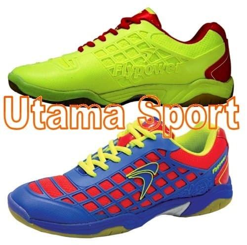 harga Sepatu badminton / bulutangkis flypower dieng Tokopedia.com
