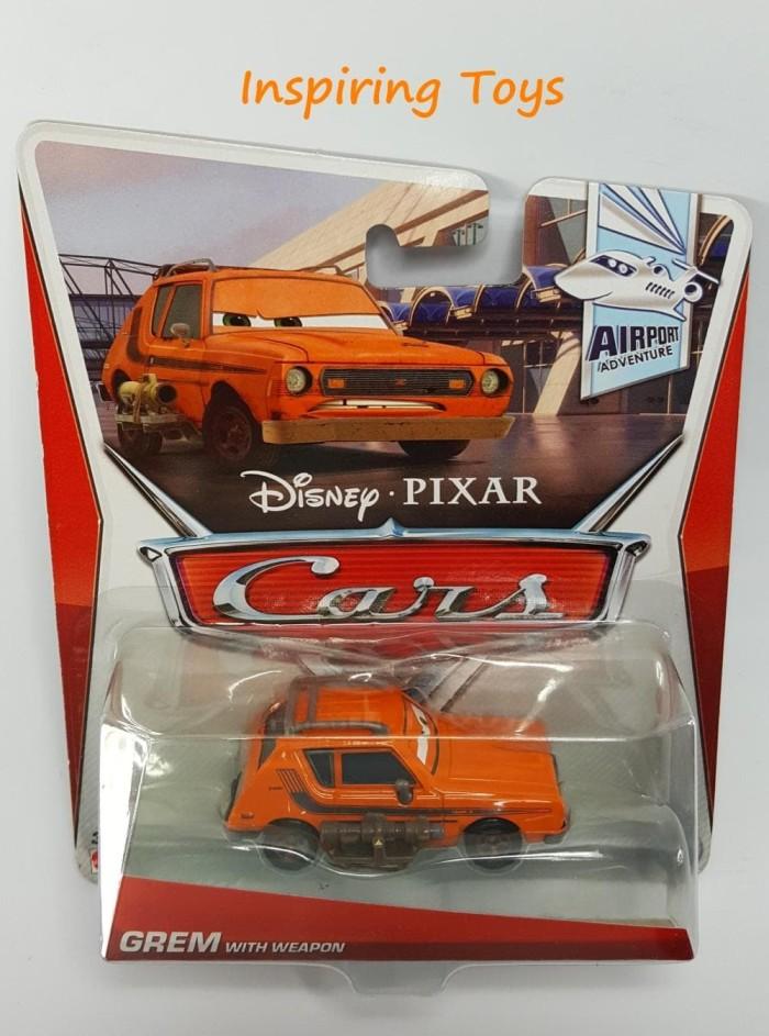 Disney Pixar Cars - Grem With Weapon