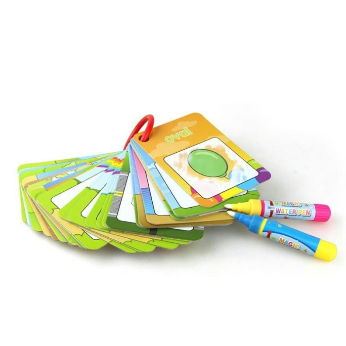 harga Buku ajaib anak water doodle magic drawing card shape color number Tokopedia.com