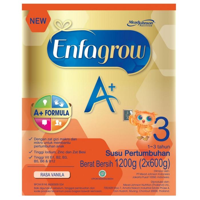 Enfagrow a+ 3 rasa vanila 1200 gr