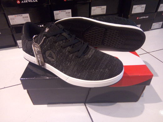 Jual Sepatu Casual Airwalk Keyton Black Kota Bandung Sepatu