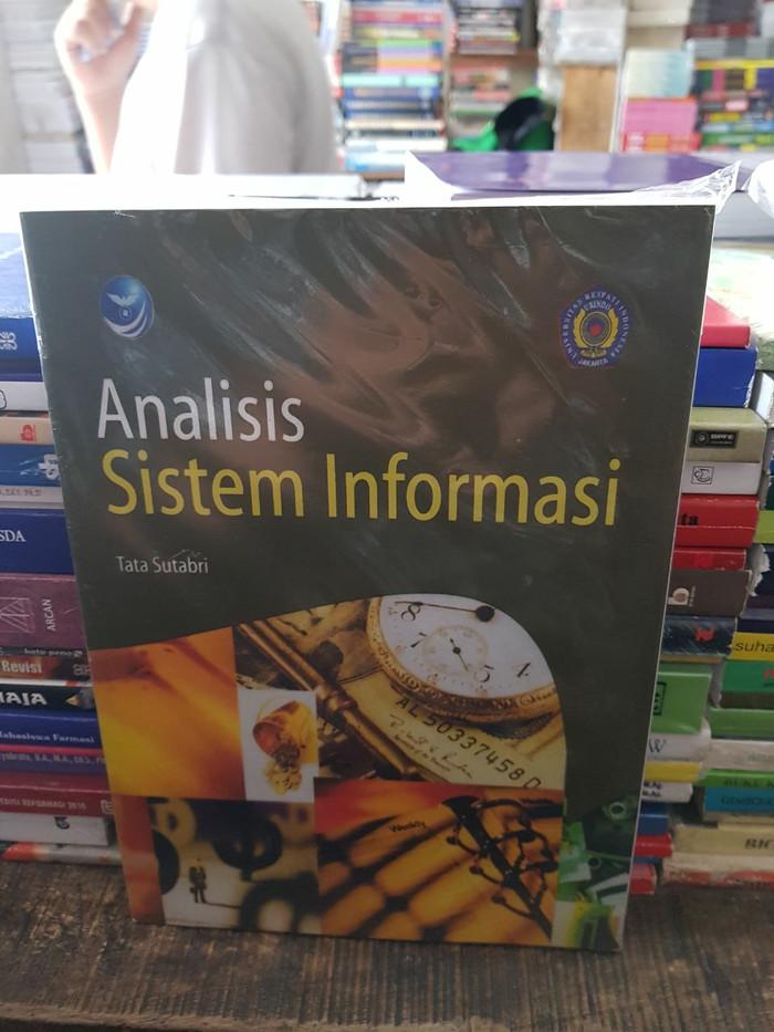 harga Analisis sistem informasi by tata sutabri Tokopedia.com