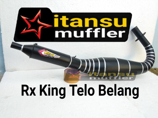 harga Knalpot rx king kolong spesial hitam Tokopedia.com