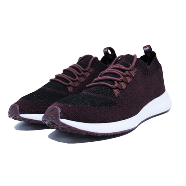 Jual SEPATU SNEAKERS PIERO TERRASOCKS EVO MARROON WHITE - Maroon ce079b35ea