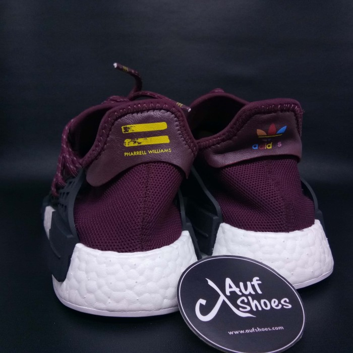 reputable site c1abe 0e65b Jual Adidas PW Human Race NMD Maroon White PHARRELL FRIENDS AND FAMILY -  DKI Jakarta - AUF SHOES | Tokopedia