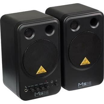 harga Powered studio monitor speaker behringer ms16 (original) Tokopedia.com