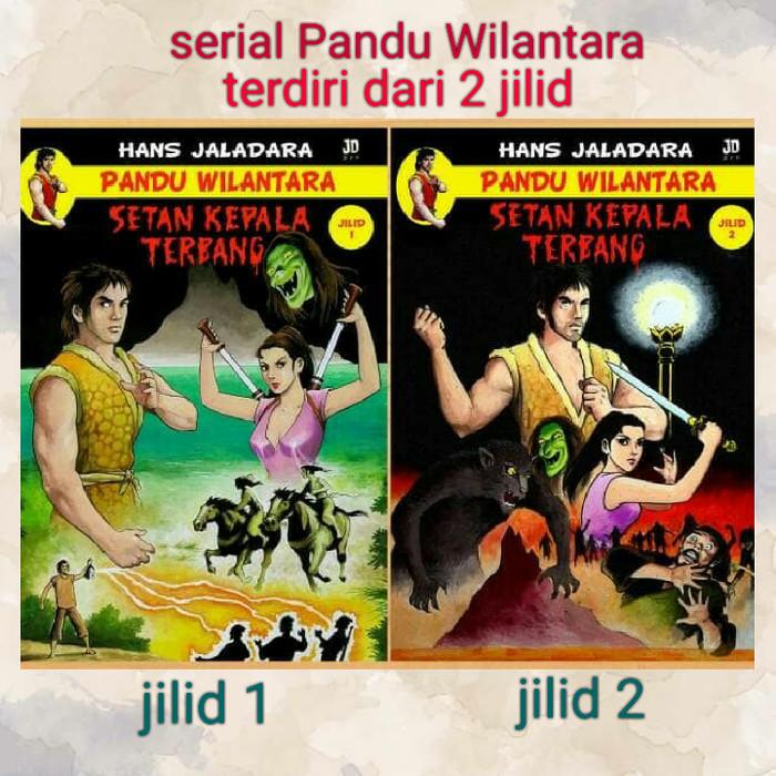 "Foto Produk Komik karya Hans Jaladara 'Pandu Wilantara ""Setan Kepala Terbang"" 1-2 dari Kokabu"