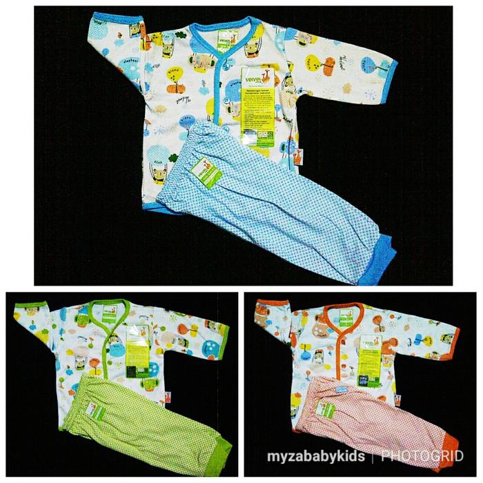 harga Baju bayi laki-laki / perempuan velvet junior size sml setelan panjang Tokopedia.com
