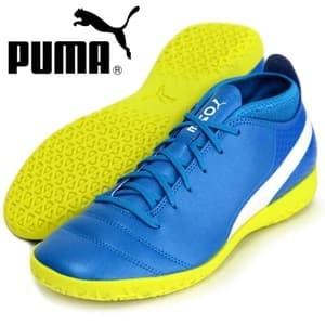 ... harga Sepatu futsal puma one 17.4 it biru kuning original asli murah  Tokopedia.com f064eb6e70