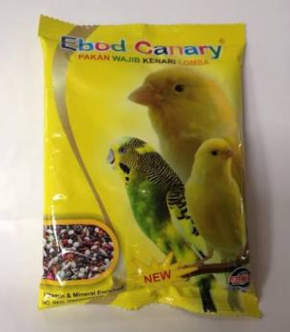 Jual Makanan Burung Kenari Harian Kemasan Plastik Ebod Kenari Sachet Kota Bogor Republik Birdshop Tokopedia