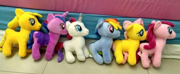 Boneka Cantik Imut Boneka My Little Pony Ponny Kuda Poni Size Xl Sni