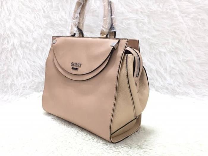 dae7b086ec Jual Tas Import Wanita ORIGINAL GUESS Ambasador Handbag - Cream - Ai ...