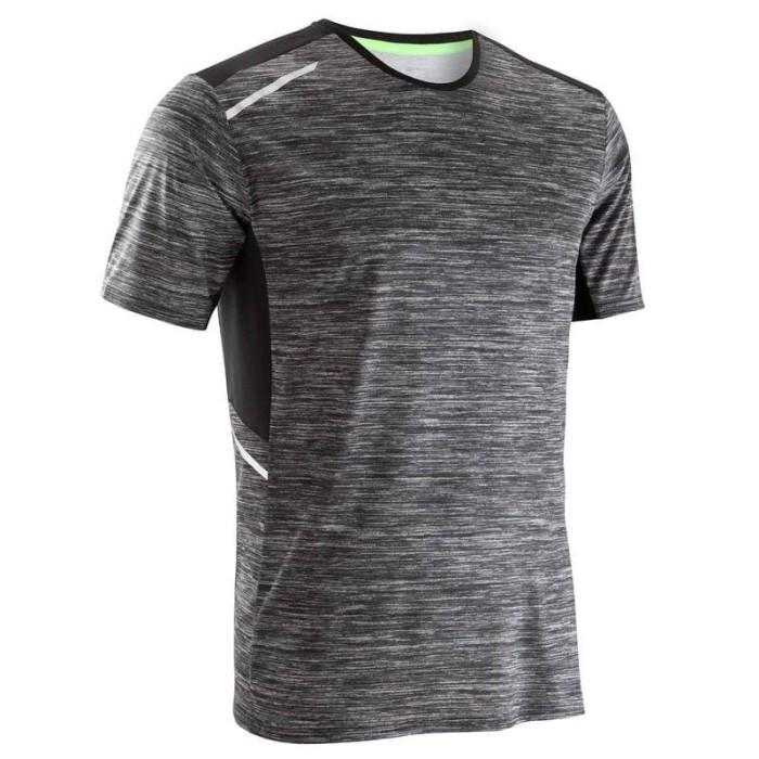 ... harga Men s running t-shirt grey kalenji kaos jogging pria Tokopedia.com 966c5e79ec