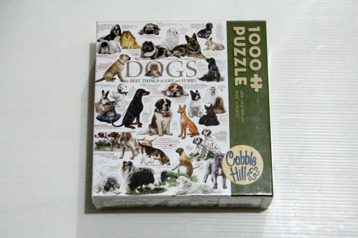 harga Jigsaw puzzle cobble hill : dog quotes - 1000 pieces Tokopedia.com