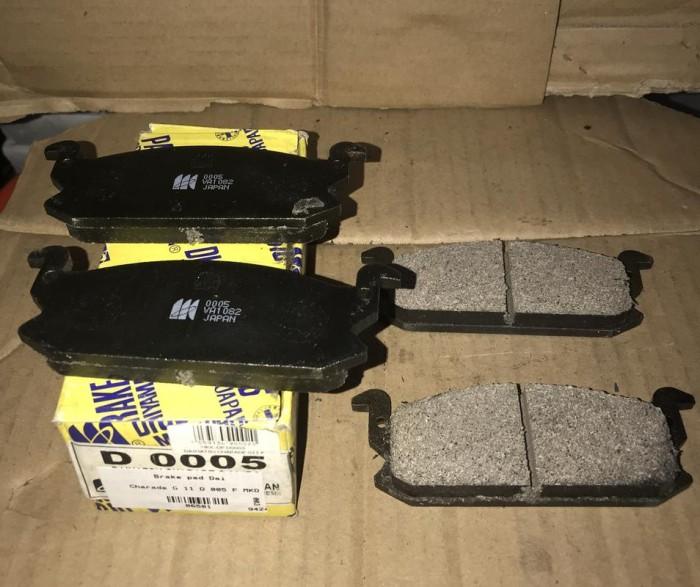 harga Brake pad daihatsu charade g 11 d 0005 mk -06501- Tokopedia.com