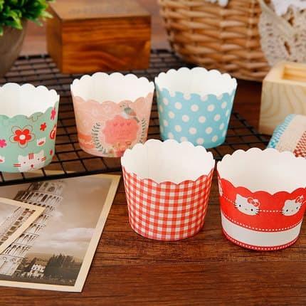 papercup cupcake muffin bread kertas tatakan roti paper cup kertas new