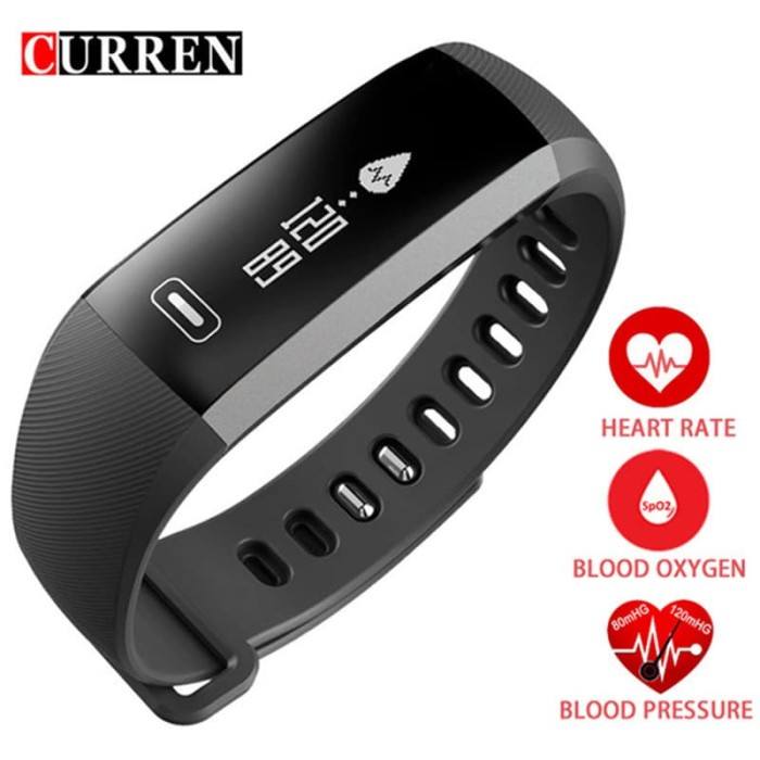 harga Blood pressure watch heart rate monitor smart men activity fitness tra Tokopedia.com