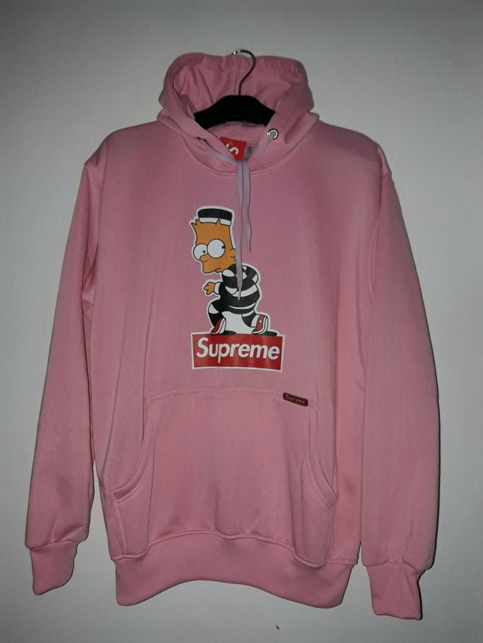 f01bf4fb3e8f jaket hoodie supreme simson   jaket jumper supreme   sweater pria girl