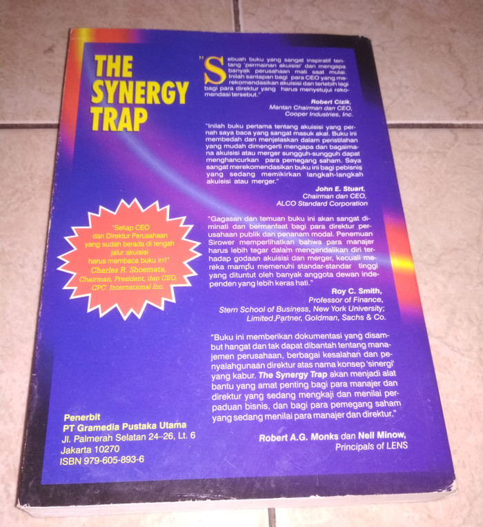 the synergy trap sirower mark l