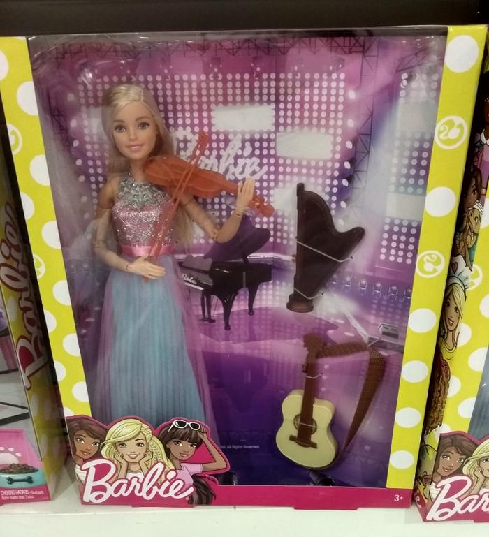 harga Barbie violin original mattel / boneka barbie instrumental harpa/biola Tokopedia.com