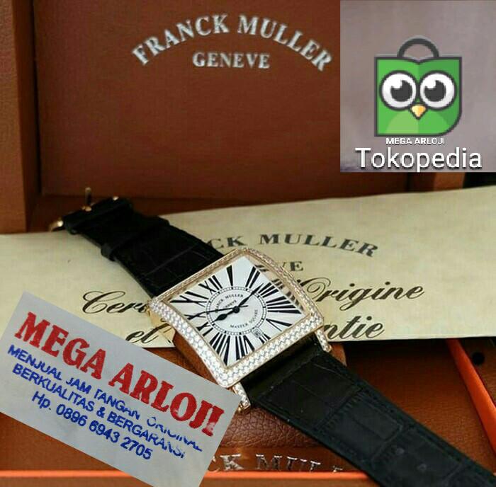 Jual Jam Tangan Cewek Wanita Franck Muller Fm Romawi Diamon Super Grade Aaa  Harga Rp 1.250 9d4cebac5a