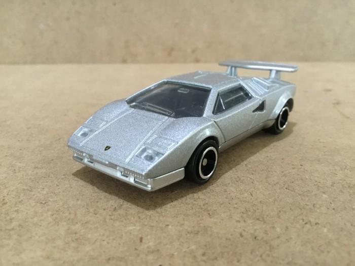Jual Tomica Lamborghini Countach Silver Loose New Tedy Tjandera