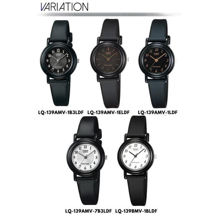 Casio Analog Watch Jam Tangan Wanita - Tali karet - Petite Size LQ-1
