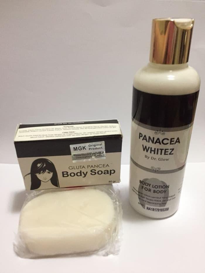 harga Obat sabun lotion pemutih kulit wajah badan panacea bpom original Tokopedia.com