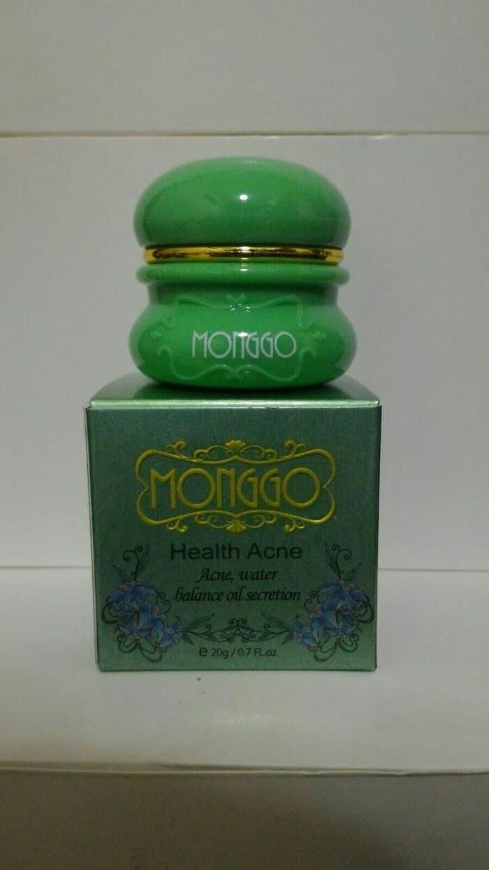 harga Obat krim pemutih kulit penghilang jerawat wajah monggo acne original Tokopedia.com