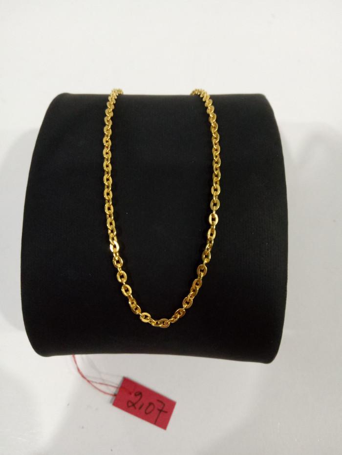 harga Kalung emas asli model fancy kadar 700 Tokopedia.com