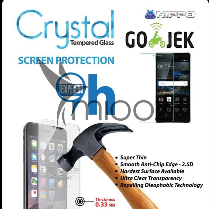 tempered glass hippo crystal samsung a5 2017 garansi resmi