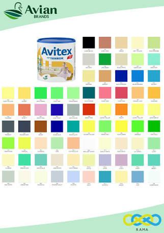 Jual Cat Tembok Emulsion Avitex 5 Kg Semua Warna Promo Berhadiah