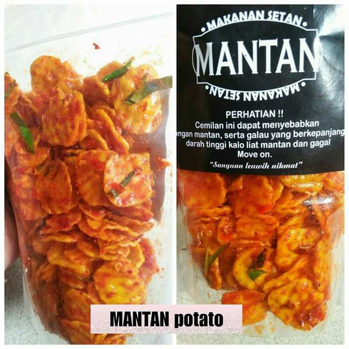 Jual Cemilan Snack Makanan Ringan Makanan Kekinian Mantan Potato