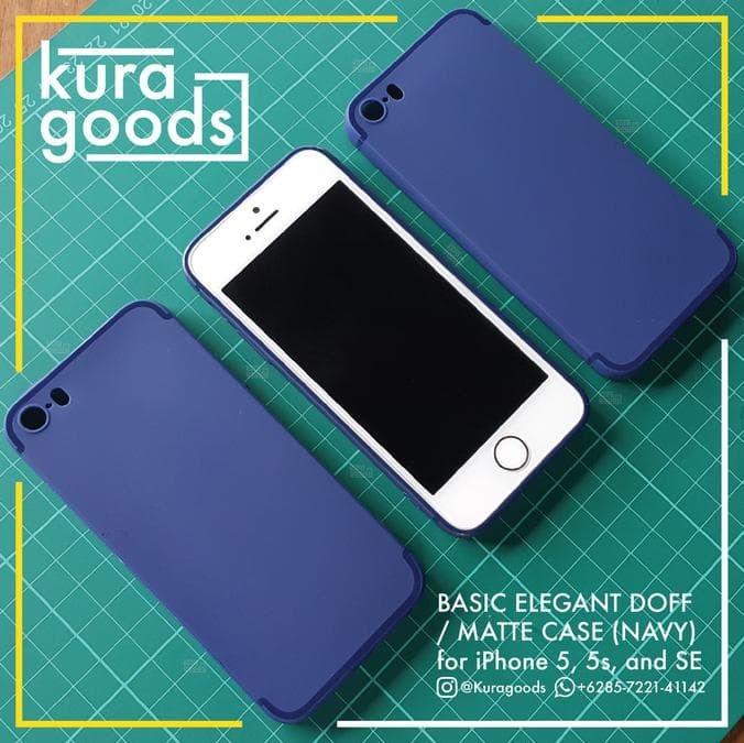Jual Softcase Slim Doff   Matte Softcase Thin Case For Iphone 5 5S ... 3b267b9ffa