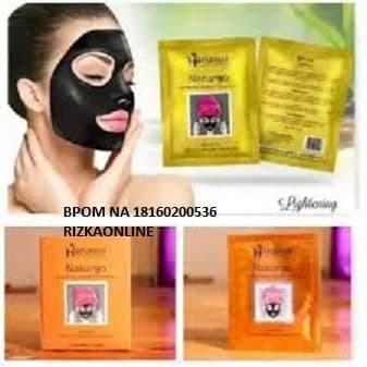 Foto Produk Masker Naturgo RESMI BPOM Hanasui dari RizkaOnline
