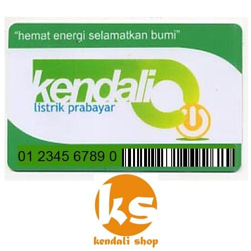 harga Kendali token listrik prabayar 200k Tokopedia.com