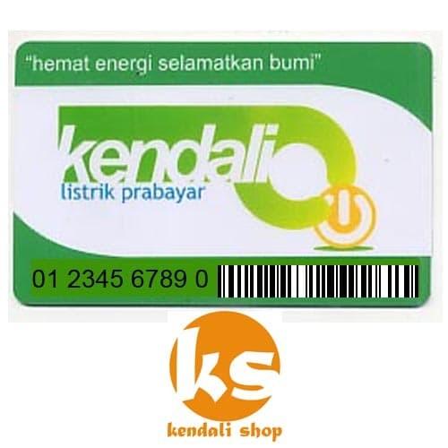 harga Kendali token listrik prabayar 500k Tokopedia.com