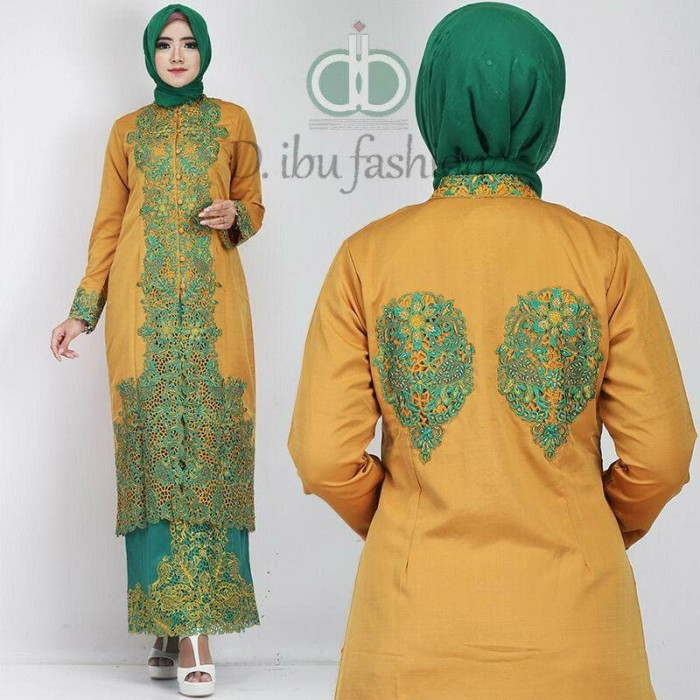 Kebaya Baloteli Tosca FULL Payet cocok untuk kondangan / baju muslim 1
