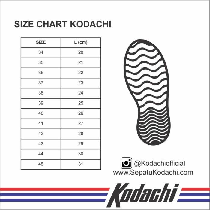 Kodachi 8111 + Kaos Kaki Old School (PaketMZ1) - Sepatu Capung