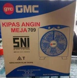 GMC 709 Kipas Angin Kotak 12 inch - Box Fan - Meja - Duduk - Lantai