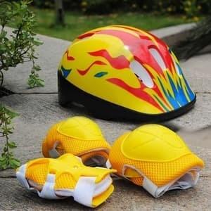 Helm sepeda sepatu roda anak lengkap harga ... bfd7c414ab