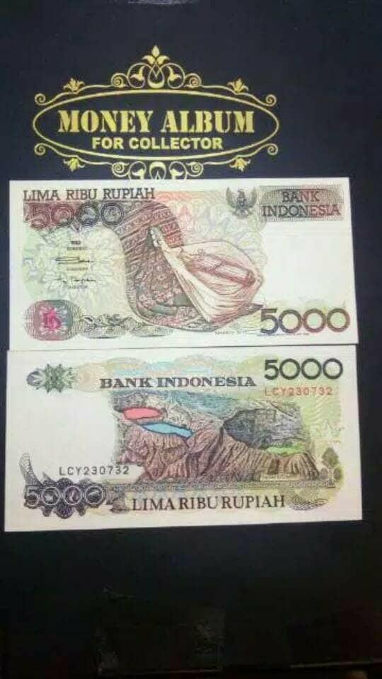 harga Uang kuno 5000 rupiah sasando tahun 1992 Tokopedia.com