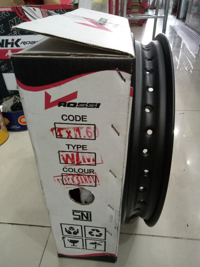harga Paketan velg rossi ring 14 lebar 160 dan 185 jari-jari 36 Tokopedia.com