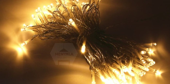 Led 80 baterai / aa battery / tumblr lamp / christmas / lampu natal