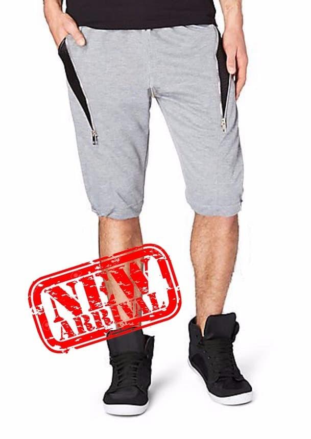 Joger Pants Pria Jogger Celana Sedengkul Abu abu JACQUE