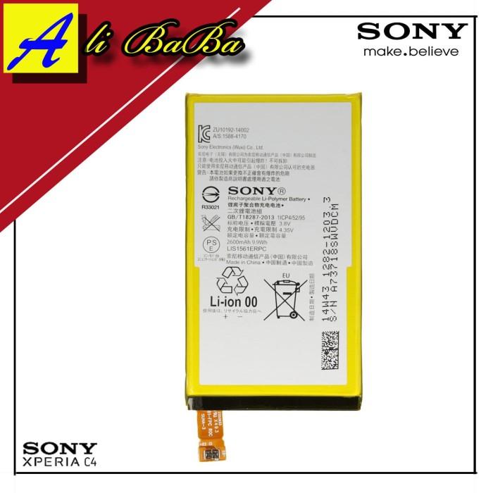 harga Baterai handphone sony xperia c4 xperia c4 dual lis1561erpc batu batre Tokopedia.com