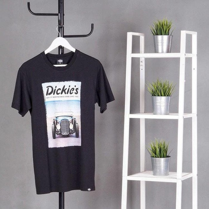 harga Dickies | beamon | mens t-shirt - hitam s Tokopedia.com