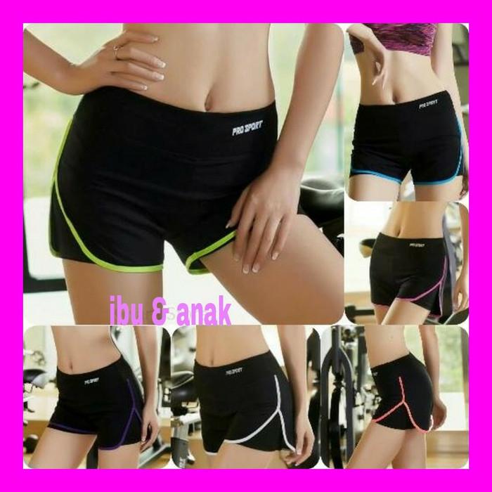harga Celana olah raga wanita / sport pendek hotpants celana senam jogging Tokopedia.com