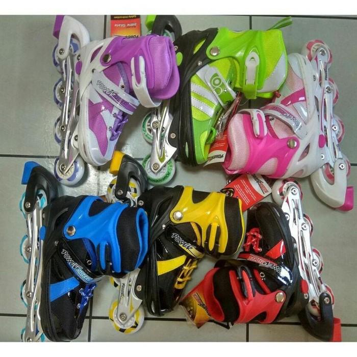 Sepatu Roda Bajaj Anak dan Dewasa - Inline Skates Bisa Disetting Roda 2b43be9700