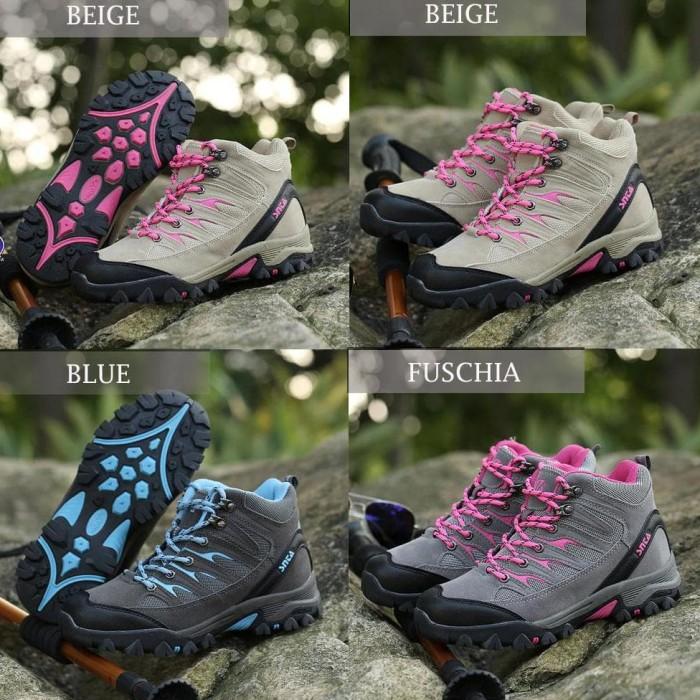 Jual Sepatu Gunung Wanita - Sepatu Hiking Wanita - SNTA Outdoor 605 ... 52919a34e9
